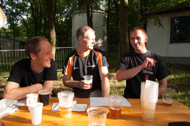 Bierchen danach